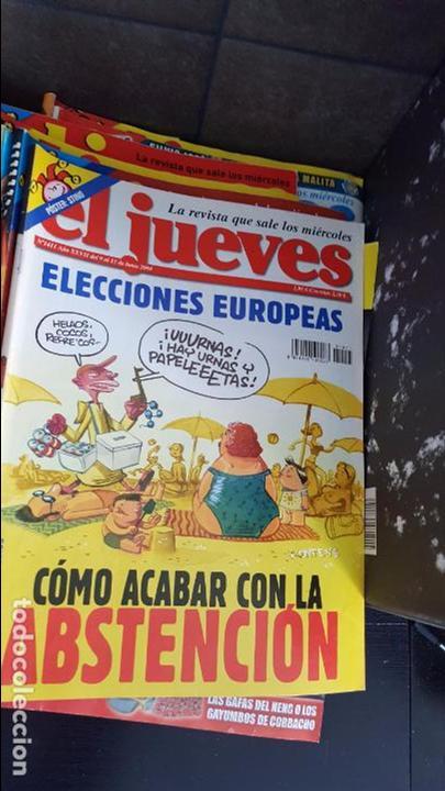 Coleccionismo de Revista El Jueves: LOTE DE 40 REVISTAS EL JUEVES. Década del 2000-2010 aproximadamete - Foto 5 - 85914112