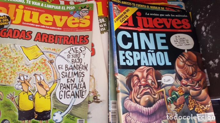 Coleccionismo de Revista El Jueves: LOTE DE 40 REVISTAS EL JUEVES. Década del 2000-2010 aproximadamete - Foto 6 - 85914112
