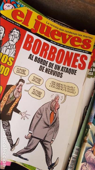Coleccionismo de Revista El Jueves: LOTE DE 40 REVISTAS EL JUEVES. Década del 2000-2010 aproximadamete - Foto 7 - 85914112