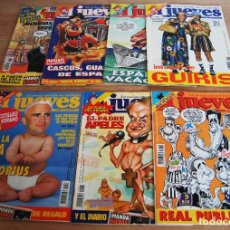 Coleccionismo de Revista El Jueves: EL JUEVES - LOTE 7 NÚMEROS - 1051, 1053, 1054, 1055, 1056, 1057, 1058. Lote 89444884