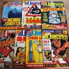 Coleccionismo de Revista El Jueves: EL JUEVES - LOTE 7 NÚMEROS - 1316, 1323, 1333, 1349, 1398, 1418, 1420. Lote 89445852