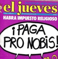 Coleccionismo de Revista El Jueves: EL JUEVES Nº 76 DEL 7 AL 13 NOVIEMBRE 1978 . Lote 91972310