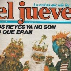 Coleccionismo de Revista El Jueves: EL JUEVES Nº 33 DEL 6 ENERO 1978 . Lote 91972930