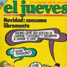 Coleccionismo de Revista El Jueves: EL JUEVES Nº 81 DEL 13 AL 20 DICIEMBRE 1978 . Lote 91973485