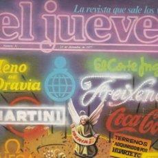 Coleccionismo de Revista El Jueves: EL JUEVES Nº 31 DEL 23 DICIEMBRE 1977 . Lote 91973985