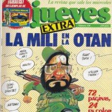 Coleccionismo de Revista El Jueves: EL JUEVES Nº 510 DEL 4 AL 10 MARZO 1987 EXTRA LA MILI EN LA OTAN (CON PÓSTER). Lote 92073945