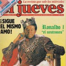 Coleccionismo de Revista El Jueves: EL JUEVES Nº 340 DEL 14 AL 20 NOVIEMBRE 1984 . Lote 92113800