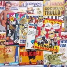 Coleccionismo de Revista El Jueves: EL JUEVES LOTE DE 17 REVISTAS DE 1997- INCLUYE EXTRA BODA REAL URDANGARIN-CRISTINA, EXTRA 20 AÑOS. Lote 92370560