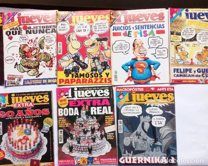 Coleccionismo de Revista El Jueves: EL JUEVES LOTE DE 17 REVISTAS DE 1997- INCLUYE EXTRA BODA REAL URDANGARIN-CRISTINA, EXTRA 20 AÑOS - Foto 2 - 92370560
