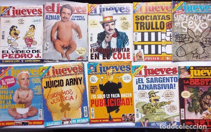 Coleccionismo de Revista El Jueves: EL JUEVES LOTE DE 17 REVISTAS DE 1997- INCLUYE EXTRA BODA REAL URDANGARIN-CRISTINA, EXTRA 20 AÑOS - Foto 3 - 92370560