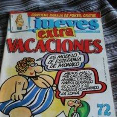 Coleccionismo de Revista El Jueves: EL JUEVES EXTRA VACACIONES 1988. Lote 94063135