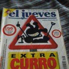 Coleccionismo de Revista El Jueves: EL JUEVES EXTRA CURRO 2002. Lote 94071840