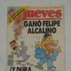Coleccionismo de Revista El Jueves: REVISTA EL JUEVES Nº 837. 9 AL 15 DE JUNIO DE 1993. GANO FELIPE ALCALINO. TDKR36. Lote 94172175