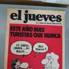 Coleccionismo de Revista El Jueves: EL JUEVES N° 8 1977 MUY DIFICIL. Lote 96935231