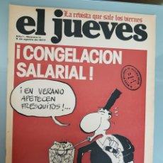 Coleccionismo de Revista El Jueves: EL JUEVES N° 11 1977 MUY DIFICIL. Lote 96937467