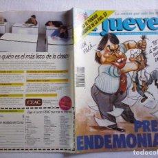 Coleccionismo de Revista El Jueves: TEBEOS Y COMICS: REVISTA EL JUEVES Nº 666. PRENSA ENDEMONIADA (ABLN). Lote 97009127