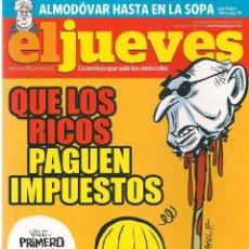 Coleccionismo de Revista El Jueves: EL JUEVES. Nº 1790. 20 SEPTIEMBRE 2011. (B/60). Lote 98751415