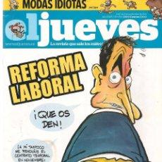 Coleccionismo de Revista El Jueves: EL JUEVES. Nº 1789. 13 SEPTIEMBRE 2011. (B/60). Lote 98751471