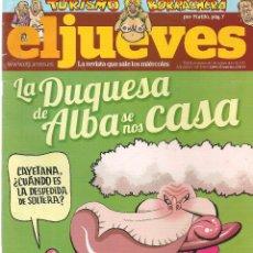 Coleccionismo de Revista El Jueves: EL JUEVES. Nº 1788. 6 SEPTIEMBRE 2011. (B/60). Lote 98751515