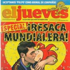 Coleccionismo de Revista El Jueves: EL JUEVES. Nº 1730. 27 JULIO 2010. (B/60). Lote 98751675