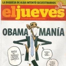 Coleccionismo de Revista El Jueves: EL JUEVES. Nº 1643. 25 NOVIEMBRE 2008. (B/60). Lote 98752011