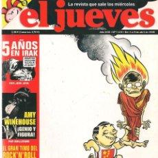 Coleccionismo de Revista El Jueves: EL JUEVES. Nº 1610. 8 ABRIL 2008. (B/60). Lote 98752711