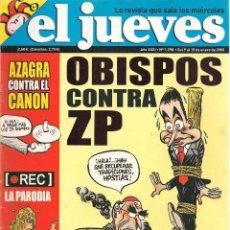 Coleccionismo de Revista El Jueves: EL JUEVES. Nº 1598. 15 ENERO 2008. (B/60). Lote 98753627