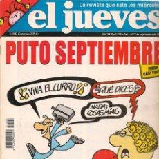 Coleccionismo de Revista El Jueves: EL JUEVES. Nº 1528. 12 SEPTIEMBRE 2006. (B/60). Lote 98754659