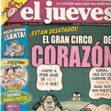 Coleccionismo de Revista El Jueves: EL JUEVES. Nº 1525. 22 AGOSTO 2006. (B/60). Lote 98757451
