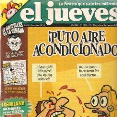 Coleccionismo de Revista El Jueves: EL JUEVES. Nº 1522. CONTIENE BIBLIOTECA DE VERANO. 1 AGOSTO 2006. (B/60). Lote 98757587