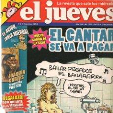 Coleccionismo de Revista El Jueves: EL JUEVES. Nº 1521. 25 JULIO 2006. (B/60). Lote 98757699