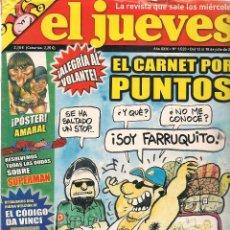 Coleccionismo de Revista El Jueves: EL JUEVES. Nº 1520. 18 JULIO 2006. (B/60). Lote 98757803