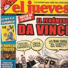 Coleccionismo de Revista El Jueves: EL JUEVES. Nº 1512. 23 MAYO 2006. (B/60). Lote 98758427