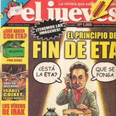 Coleccionismo de Revista El Jueves: EL JUEVES. Nº 1500. 28 FEBRERO 2006. (B/60). Lote 98758831