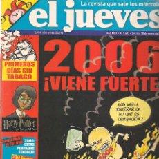 Coleccionismo de Revista El Jueves: EL JUEVES. Nº 1493. 10 ENERO 2006. (B/60). Lote 98759395