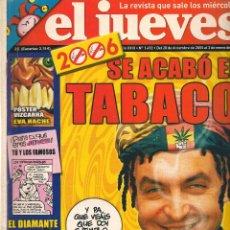 Coleccionismo de Revista El Jueves: EL JUEVES. Nº 1492. 3 ENERO 2006. (B/60). Lote 98759475