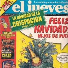 Coleccionismo de Revista El Jueves: EL JUEVES. Nº 1491. 27 DICIEMBRE 2005. (B/60). Lote 98759587
