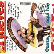 Coleccionismo de Revista El Jueves: EL JUEVES - Nº 1030 - 19 AL 25 FEBRERO 1997 - POSTER DENZEL WASHINGTON. Lote 98828543