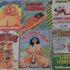 Coleccionismo de Revista El Jueves: PROFESOR COJONCIANO, PENDONES DEL HUMOR. Lote 98957147