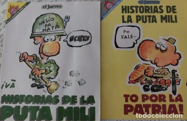 HISTORIAS DE LA PUTA MILI (PENDONES DEL HUMOR) (Coleccionismo - Revistas y Periódicos Modernos (a partir de 1.940) - Revista El Jueves)
