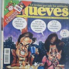 Coleccionismo de Revista El Jueves: EL JUEVES. LA REVISTA QUE SALE LOS MIÉRCOLES Nº 992 JUNIO1996. ESTA NOCHE CRUZAMOS EL MISSISSIPPI. Lote 99537367