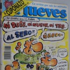 Coleccionismo de Revista El Jueves: EL JUEVES. LA REVISTA QUE SALE LOS MIÉRCOLES Nº 651 NOVIEMBRE 1989 INSUMISIÓN. Lote 99538751