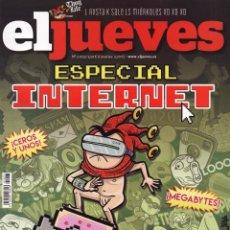 Coleccionismo de Revista El Jueves: EL JUEVES N. 2023 - ESPECIAL INTERNET (NUEVA). Lote 114624766