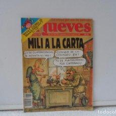 Coleccionismo de Revista El Jueves: EL JUEVES MILI A ALA CARTA Nº 801. Lote 102385867