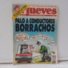 Coleccionismo de Revista El Jueves: EL JUEVES PALO A LOS CONDUCTORES BORRACHOS Nº 826. Lote 102386623