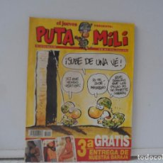 Coleccionismo de Revista El Jueves: EL JUEVES PRESENTA PUTA MILI Nº 202. Lote 102386703