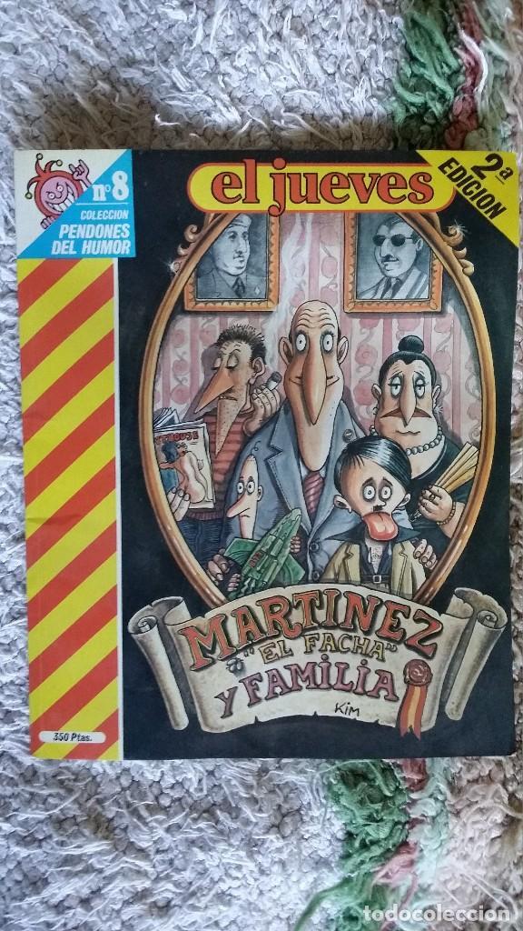 MARTINEZ EL FACHA Y FAMILIA Nº8 (Coleccionismo - Revistas y Periódicos Modernos (a partir de 1.940) - Revista El Jueves)