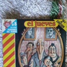 Coleccionismo de Revista El Jueves: MARTINEZ EL FACHA Y FAMILIA Nº8. Lote 104061111