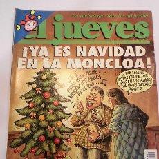 Coleccionismo de Revista El Jueves: REVISTA EL JUEVES NUMERO 942. Lote 105166640
