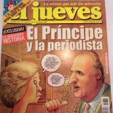 Coleccionismo de Revista El Jueves: REVISTA EL JUEVES NUMERO 1381. Lote 105167059